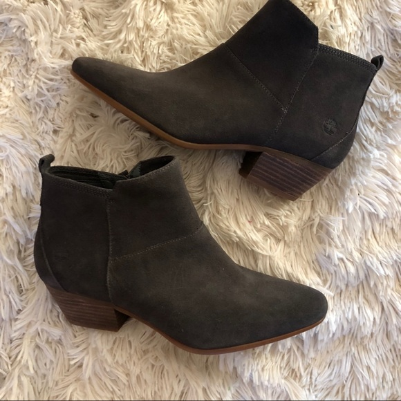e6842067925 Timberland Shoes | Carleton Earthkeepers Suede Zip Bootie | Poshmark